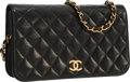 Luxury Accessories:Bags, Chanel Black Quilted Lambskin Leather Small Flap Bag . ...