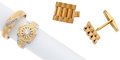 Estate Jewelry:Lots, Lot of Diamond, Gold, White Gold Jewelry. ... (Total: 3 Items)