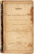Books:Americana & American History, Rev. Hosea Hildreth. A View of the United States; for the Use ofSchools and Families. Boston: Carter and Hendee, 18...