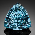 Gems:Faceted, FINE GEMSTONE: AQUAMARINE - 21.24 CT.. Madagascar. ...