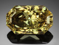Gems:Faceted, RARE GEMSTONE: APATITE - 13.96 CT.. Durango, Mexico. ...