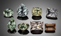 Gems:Faceted, MIXED RARE GEMSTONE PARCEL: ZIRCON, SUNSTONE, AMBLYGONITE,DANBURITE, PINK TOPAZ, BLUE BERYL, EUCLASE, & CHRYSOBERYL -41.52 ... (Total: 8 Items)