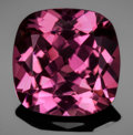 Gems:Faceted, FINE GEMSTONE: ELBAITE var. TOURMALINE - 6.44 CT.. Nigeria. ...