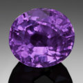 Gems:Faceted, FINE GEMSTONE: FUCHSIA SAPPHIRE - 3.08 CT.. Sri Lanka. ...