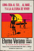 "Movie Posters:Sports, The Endless Summer (Columbia, 1966). Argentinean Poster (29"" X 43.25""). Sports.. ..."