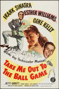 "Movie Posters:Musical, Take Me Out to the Ball Game (MGM, 1949). One Sheet (27"" X 41""). Musical.. ..."