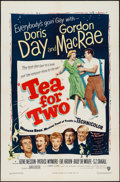 """Movie Posters:Musical, Tea for Two (Warner Brothers, 1950). One Sheet (27"""" X 41""""). Musical.. ..."""
