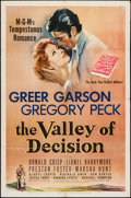 """Movie Posters:Drama, The Valley of Decision (MGM, 1945). One Sheet (27"""" X 41""""). Drama.. ..."""