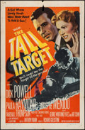 """Movie Posters:Thriller, The Tall Target (MGM, 1951). One Sheet (27"""" X 41""""). Thriller.. ..."""