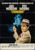 "Movie Posters:Mystery, Chinatown (Paramount, 1974). German A1 (23.25"" X 33""). Mystery....."