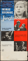 """Movie Posters:Foreign, The Virgin Spring (Svensk Filmindustri, 1960). Swedish Poster (12.25"""" X 27.25""""). Foreign.. ..."""
