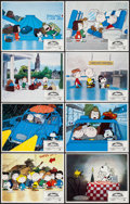 """Movie Posters:Animation, Bon Voyage, Charlie Brown (Paramount, 1980). Lobby Card Set of 8 (11"""" X 14""""). Animation.. ... (Total: 8 Items)"""