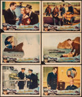 "Movie Posters:Action, The Sea Spoilers (Universal, 1936). Lobby Cards (6) (11"" X 14""). Action.. ... (Total: 6 Items)"