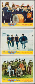 "Movie Posters:Rock and Roll, Help! (United Artists, 1965). Lobby Cards (3) (11"" X 14""). Rock andRoll.. ... (Total: 3 Items)"