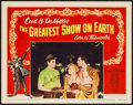 "Movie Posters:Drama, The Greatest Show on Earth (Paramount, 1952). Autographed Lobby Card (11"" X 14""). Drama.. ..."