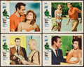 "Movie Posters:James Bond, Dr. No (United Artists, 1962). Lobby Cards (4) (11"" X 14""). JamesBond.. ... (Total: 4 Items)"