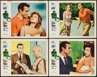 "Dr. No (United Artists, 1962). Lobby Cards (4) (11"" X 14""). James Bond. ... (Total: 4 Items)"