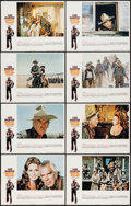 "Movie Posters:Western, Monte Walsh & Other Lot (National General, 1970). Lobby CardSets of 8 (2) (11"" X 14""). Western.. ... (Total: 16 Items)"