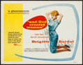 """Movie Posters:Foreign, And God Created Woman (Cocinor, 1956). Title Lobby Card (11"""" X 14""""). Foreign.. ..."""