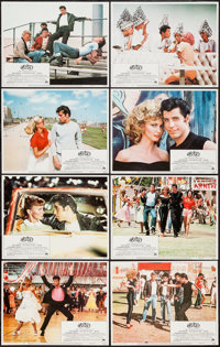 "Grease (Paramount, 1978). Lobby Card Set of 8 (11"" X 14""). Musical. ... (Total: 8 Items)"