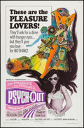 "Movie Posters:Exploitation, Psych-Out (American International, 1968). One Sheet (27"" X 41""). Exploitation.. ..."