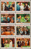 """Movie Posters:Comedy, Robin and the 7 Hoods (Warner Brothers, 1964). Lobby Card Set of 8 (11"""" X 14""""). Comedy.. ... (Total: 8 Items)"""