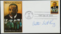 Miscellaneous Collectibles:General, Coretta Scott King Signed First Day Cover....