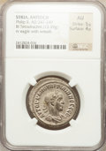 Ancients:Roman Provincial , Ancients: SYRIA. Antioch. Philip II (AD 247-249). BI tetradrachm(13.39 gm). ...