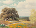 Paintings, PALMER CHRISMAN (American, 1913-1984). Blooming Texas Countryside. Oil on canvas. 16 x 20 inches (40.6 x 50.8 cm). Signe...