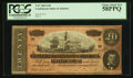 Confederate Notes:1864 Issues, Fully Framed T67 $20 1864.. ...