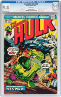 Bronze Age (1970-1979):Superhero, The Incredible Hulk #180 (Marvel, 1974) CGC NM 9.4 White pages....