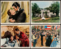 """Movie Posters:Academy Award Winners, Gone with the Wind (MGM, R-1967). Color Photos (4) (8"""" X 10"""").Academy Award Winners.. ... (Total: 4 Items)"""