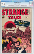 Silver Age (1956-1969):Horror, Strange Tales #97 (Marvel, 1962) CGC VF- 7.5 Off-white to whitepages....