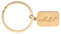 Estate Jewelry:Other , Gold Keychain, Tiffany & Co.. ...