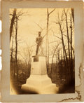 Miscellaneous:Ephemera, 145th Pennsylvania Infantry Monument Photograph....