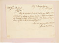 Autographs:U.S. Presidents, [James Madison]. James Madison Sr. Autograph Document Signed....