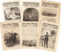 Miscellaneous:Ephemera, [Civil War and Reconstruction]. Harper's Weekly: SixIssues...