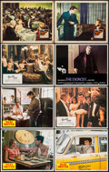 "Movie Posters:Crime, Taxi Driver & Others Lot (Columbia, 1976). Lobby Cards (8) (11""X 14""). Crime.. ... (Total: 8 Items)"