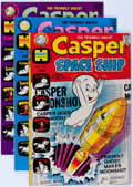 Bronze Age (1970-1979):Cartoon Character, Casper Related File Copy Group (Harvey, 1970s) Condition: AverageNM-.... (Total: 61 Comic Books)