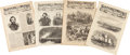 Miscellaneous:Ephemera, [Civil War]. Harper's Weekly: Four Issues with Civil WarContent...