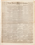 Miscellaneous:Ephemera, [Civil War]. Newspaper: New York Tribune....