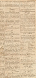 Miscellaneous:Ephemera, [Meriwether Lewis]. Newspaper: Political Observatory....