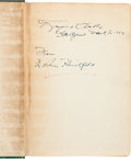 Autographs:Authors, Raymond Chandler Signed Copy of Ben Hecht's A Guide for the Bedevilled....
