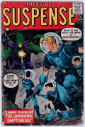 Silver Age (1956-1969):Science Fiction, Tales of Suspense #1 (Marvel, 1959) Condition: FR....