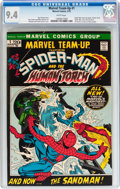 Bronze Age (1970-1979):Superhero, Marvel Team-Up #1 Spider-Man and the Human Torch (Marvel, 1972) CGC NM 9.4 White pages....