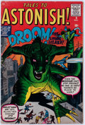 Silver Age (1956-1969):Mystery, Tales to Astonish #9 (Marvel, 1960) Condition: VG....