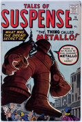 Silver Age (1956-1969):Adventure, Tales of Suspense #16 (Marvel, 1961) Condition: VG/FN....
