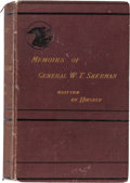 Autographs:Military Figures, William T. Sherman Inscribed Copy of Memoirs of General William T. Sherman Signed...