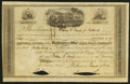 Miscellaneous:Other, Baltimore & Ohio Rail Road Company 30 Shares Nov. 21, 1839. ...