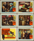 """Movie Posters:Mystery, Witness for the Prosecution (United Artists, 1958). Title Lobby Card & Lobby Cards (5) (11"""" X 14""""). Mystery.. ... (Total: 6 Items)"""